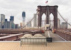 Fototapet, Podul impunător