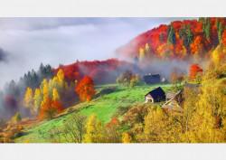 Fototapet, Satul din munți