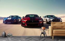Fototapete, Cursă de mașini sportive