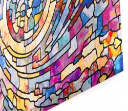 Multicanvas, Abstracția multicoloră.