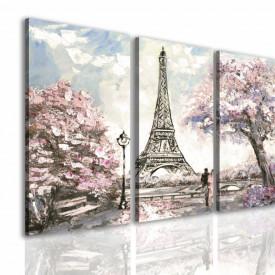Multicanvas, Dmineața în Paris.