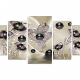 Multicanvas, Perle negre în culori prețioase