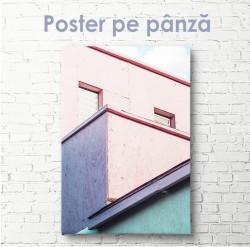 Poster, Casă roz