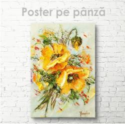 Poster, Flori de vară galbene