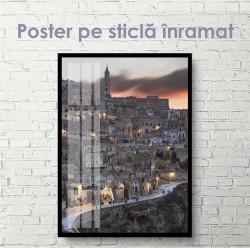 Poster, Mahalalaua la apus de soare