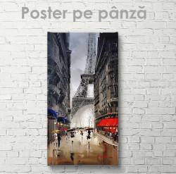 Poster, Plimbare prin Paris