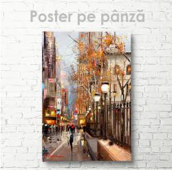 Poster, Plimbarea de seară prin oraș