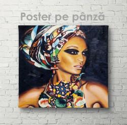 Poster, Portet al domnișoare africane