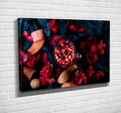 Tablouri Canvas, Băutură roșie