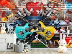 Tapet foto pentru copii, Pentru iubitorii de chitară