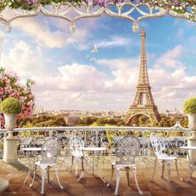Fototapet, Seară romantică în Paris