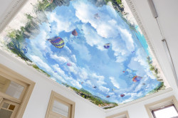 Fototapet, Cerul și baloane