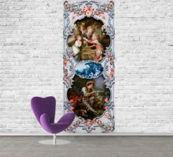Fototapet Fresco, Picturi în rame