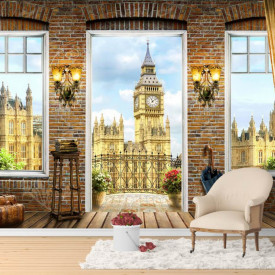Fototapet, O Priveliște la Big Ben