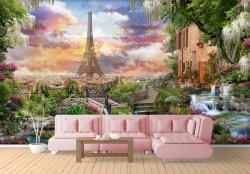 Fototapet, O terasă frumoasă din Paris