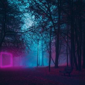 Fototapet, Parcul magic