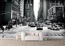 Fototapet, Pe străzile orașului
