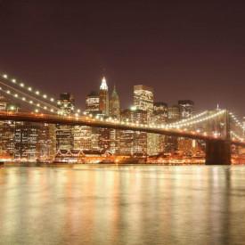 Fototapet Poduri, Oraș nocturn