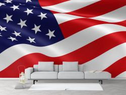 Fototapet, Steag SUA