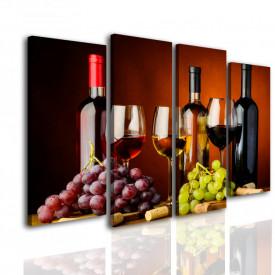 Multicanvas, Sticle de vin