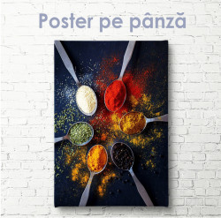 Poster, Condimente strălucitoare și aromate