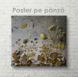 Poster, Copaci subțiriPoster, Fluturi în spini