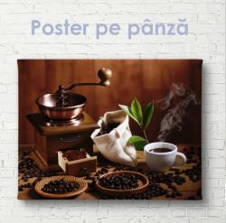 Poster, Idila unei cafele