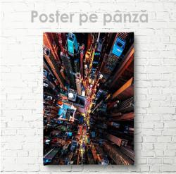 Poster,Vedere de sus peste zgârie-nori