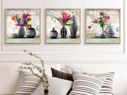 SET, Vaze cu flori