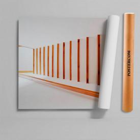 Stickere 3D pentru uși, Scări spre subsol, 1 foaie de 80 x 200 cm