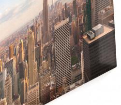 Tablou modular, Dimineața în New York.
