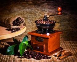 Tablou modular, Rasnita pentru boabe de cafea