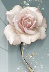Tablou, Trandafir plin de farmec
