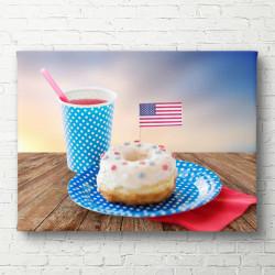 Tablouri Canvas, Dulciuri americane