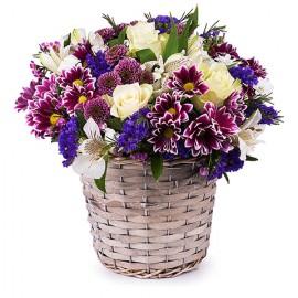 Poze Cos Salbatic: trandafiri si flori de sezon