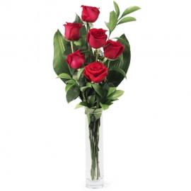 Poze Dragoste Nemuritoare: 7 trandafiri rosii