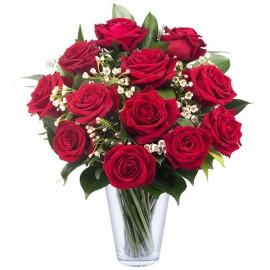 Poze Iubirea Nu Are Limite: 15 trandafiri rosii