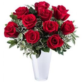 Poze Dragoste Sincera: 9 trandafiri rosii