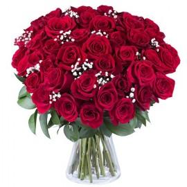 Poze Dragoste Adevarata: 45 de trandafiri rosii