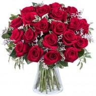 Pasiune Dulce: 21 de trandafiri rosii