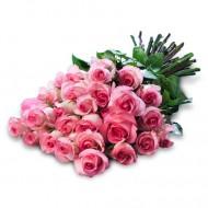 Iubire Tandra: 25 de trandafiri roz