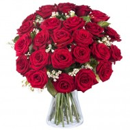 Pentru Sursa Mea de Inspiratie: 25 de trandafiri rosii