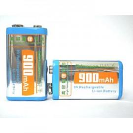 Poze Acumulatori baterii reincarcabile 9V 900mAh Li-Ion