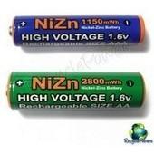 Poze Acumulatori baterii reincarcabile AA 1,6v 2800mAh Ni-Zn
