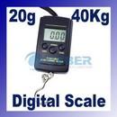 Cantar digital de mana bagaje si pescuit de la 20g-40 Kg