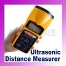 Aparat masura distanta ultrasonic laser pointer LCD