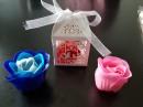 Cutie cadou - maturie – martisor cu trandafiri de sapun
