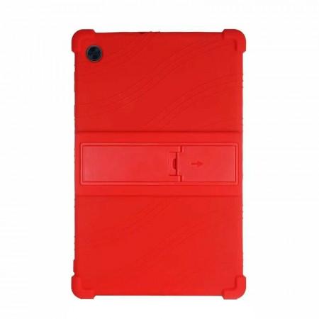 """Husa compatibila cu tableta Lenovo Tab M10 FHD Plus 10.3"""" TB-X606F/X TPU cu stand - Rosu"""