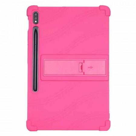 """Husa pentru tableta Samsung Galaxy Tab S7 11"""" 2020 T870 T875 TPU cu stand - Roz"""