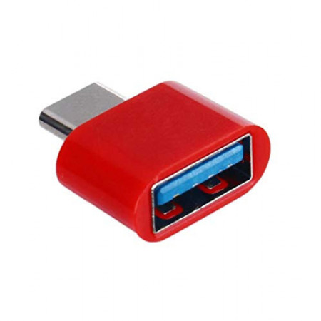Adaptor OTG, USB tip C to USB 3.0, (Type C to USB), Rosu